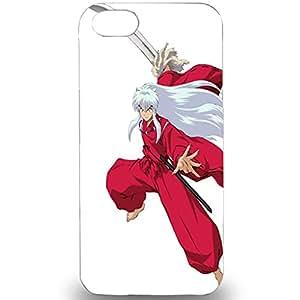 Japanese Anime Inuyasha Cool Unique Premium 3D Hard Plastic Case For Iphone 5 5S