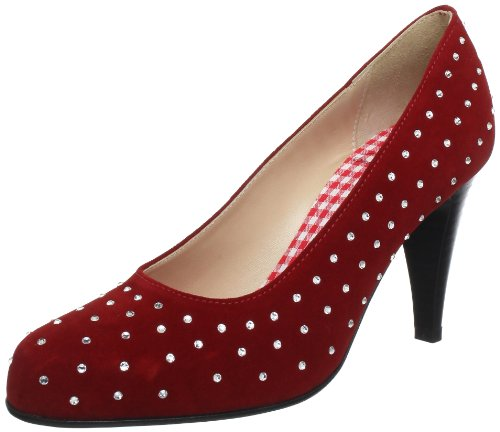 Tacco red Elke Donna Rosso Diavolezza rot 9002 Con Scarpe qpWCwx