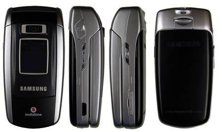 Samsung Sgh Z500 Z 500 Téléphone Mobile à Clapet Sans