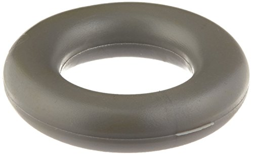 Deltana UFB4505RUB Round Replacement Ring Gray Rubber for Universal Floor ()