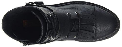 Fusée Chien Femmes Lacie Noir Botte De Combat Uk4 - Eu37 - Us6 - Au5 Noir Noir