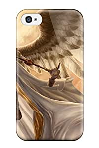For Iphone Case, High Quality Angel Warrior For Iphone 4/4s Cover Cases
