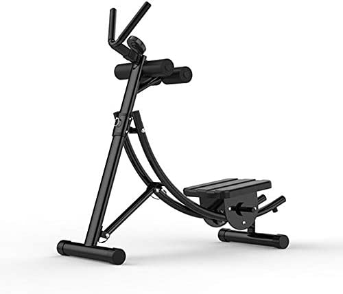 トレーニング腹部マシン、ホームジム高さ調節可能、人間工学に基づいて設計された高さ調節可能abトレーナー