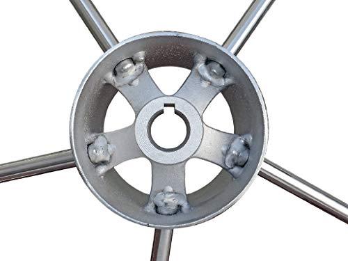 Five Oceans Destroyer Steering Wheel, 15 1/2'' FO-579 by Five Oceans (Image #3)