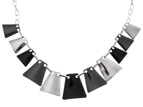 Shagwear Womens Geometric Triangle Necklace