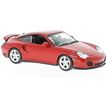 Porsche 911 Turbo (996), red, 1999, Model Car, Ready-made, Maxichamps 1:43