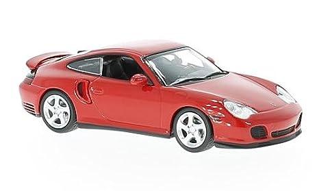 Porsche 911 Turbo (996), red, 1999, Model Car, Ready-