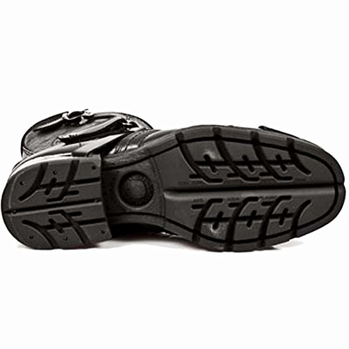 New Rock Motorock Schwarz Stiefel M.MR004-S1 BLACK, BLACK