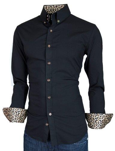PorStyle Men's Slim Fit Dress Shirts Collection