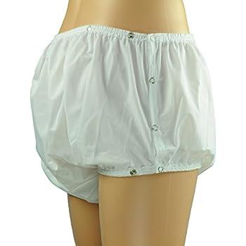 """Taille XL Extra Large 32/"""" Taille 37/"""" Adult Baby Blue Snap Plastique Pantalon en PVC"""