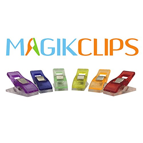 Magik Clips 100 Pack Multicolored