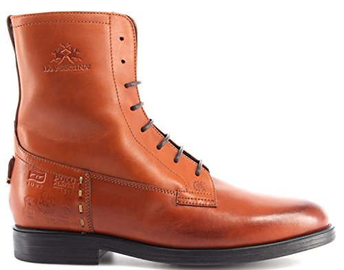Boots Piel LA Botas Martina Cognak L4185191 Princess Mujeres Ankle Zapatos New Onx0wqzq