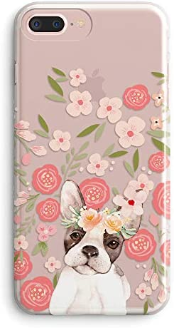 iPhone Flowers Bulldog Vintage Compatible product image