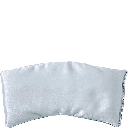 Bucky Hot & Cold Therapeutic Travel Eye Pillow, Silk Arctic Ice