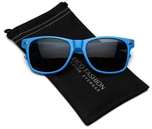 Iconic Horn Rimmed Retro Classic - Rectangular Sunglasses Shaped