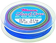 MASON 18# 100YD 20 Colors LEADCORE DEEP Water TROLLING LINE Walleye Trout
