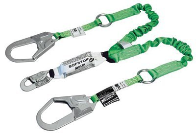 Miller Stretchstop 980RSS-RL Green Shock-Absorbing Lanyard - 6 ft Length - 980RSS-RL-Z7/6FTGN [PRICE is per EACH]