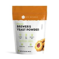 Brewer's Yeast Powder - Kate Naturals. Perfect for Lactation Cookies, Breastfeeding...