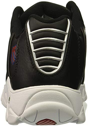 Black white Red Training Cmf Shoe K swiss St329 Women's ribbon qBw4zwY0xW