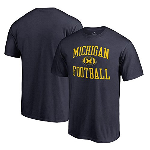 Fanatics Branded Michigan Wolverines Neutral Zone Big and Tall T-Shirt - Navy (2XLT) from Fanactics
