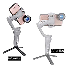 ULANZI PT-10 Counterweight for DJI OSMO Mobile 3 OM 4, 3pcs 20g Weights for iPhone 11 Pro Max Balance Smartphone…
