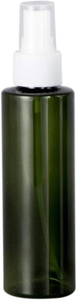 CAOLATOR 5Pcs Botes Botella de Pulverizacion Vacío Plástico Botella De Aerosol Recargable Atomizador de Viaje para El Peinado Animales De Ducha -Verde oscuro 150ml