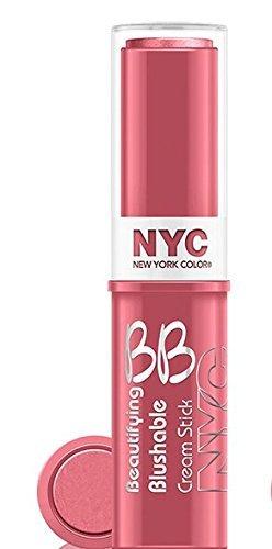 NYC Beautifying Blushable Cream To Powder Stick-001 Soho Pink by - Shopping Nyc Soho