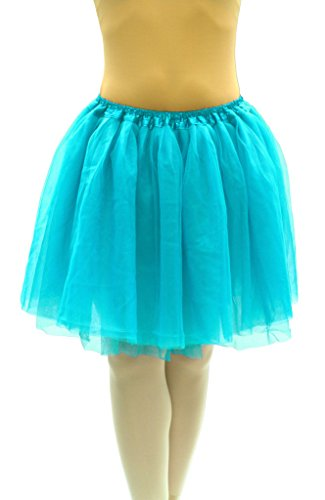 [Dancina Tutu Adult Teenage 5k 10k Mardi Gras and Fun Color Run Dress Regular Size 18