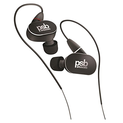 PSB M4U 4 High Definition In-Ear Monitors  Black Diamond