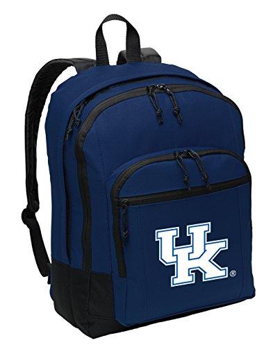 Broad Bay Classic University of Kentucky Backpack Medium UK Wildcats Backpack Laptop Sleeve (Laptop Ncaa Kentucky Bag Wildcats)