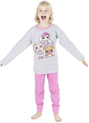 Official LOL L.O.L Surprise Pink Grey Long Sleeve Pyjamas PJs 3-10yr