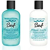 Bumble and Bumble Surf Foam Wash Shampoo 8.5oz and Surf Creme Rinse Conditioner 8.5oz