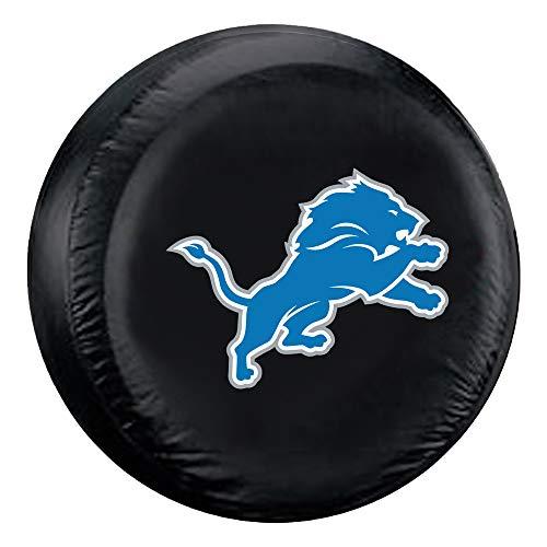 Fremont Die NFL Detroit Lions Tire Cover, Large Size (30-32