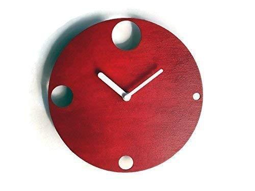 Particolare Orologio Da Parete Design Moderno.Diametro 28 Cm Piccolo Orologio Da Parete Silenzioso Colorato Come