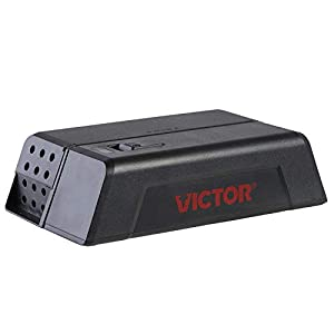 Victor M250S No Touch, No See Upgraded Indoor Electronic Mouse Trap – 1 Trap