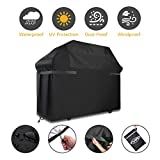 8. BBQ Grill Cover, Tvird Gas Grill Covers | 58-inch Heavy Duty Waterproof BBQ Cover | Fits Grills for Weber Char-Broil Nexgrill Brinkmann, Windproof, Rip-Proof, Weather & UV Resistant with Storage Bag