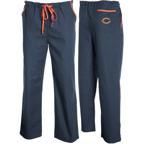 Officially Licensed NFL Chicago Bears Medical Scrub Pants S,M,L,XL & XXL