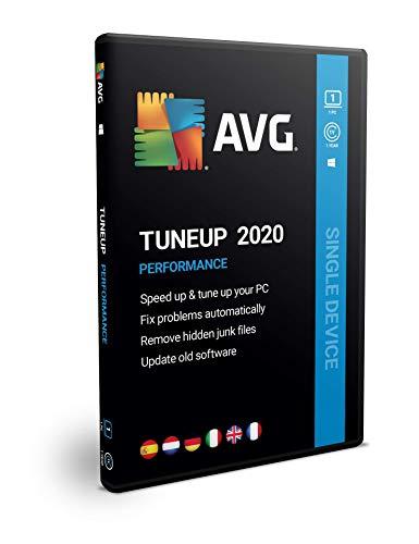 AVG PC TuneUp | 1 equipo | 1 año | En Caja