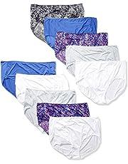 Hanes Women's Cool Comfort Microfiber Briefs 10-Pack
