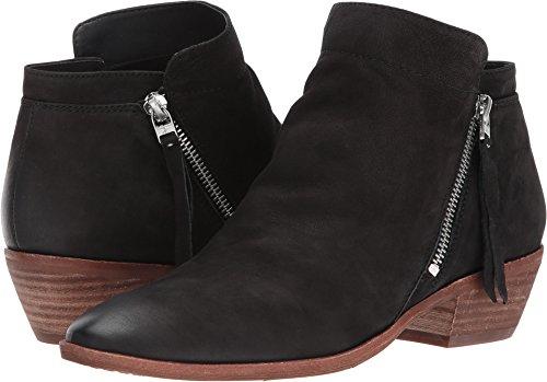 Sam Edelman Women's Packer Ankle Boot, Black Leather, 8 Wide US
