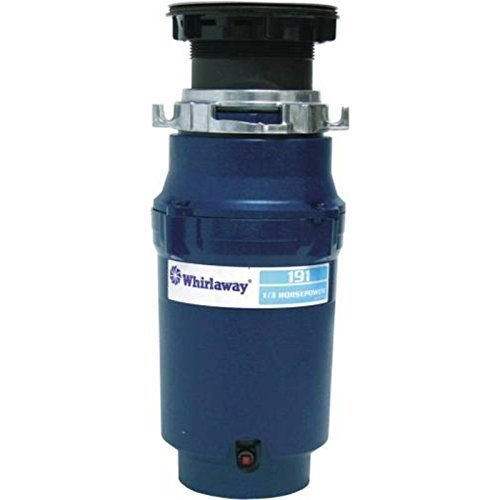 Premier 191-pc Whirlaway Garbage Disposal with Plug, 1/3 hp by Premier