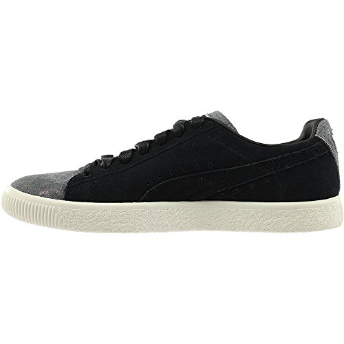 10 5 US B Clyde Black Frosted Black Women's PUMA XqwXzB