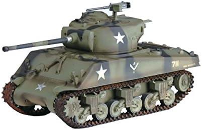 76 Various Pre Built Model W-714th Tank Bat.12th Div Easy Model 36261 1:72-M4A3