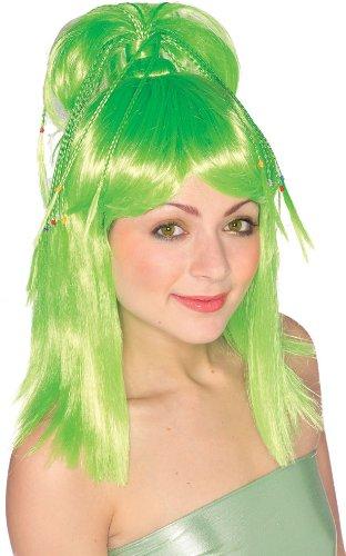 Rubie's Costume The Genie Wig, Green, One Size (Sexy Genie Halloween Costume)