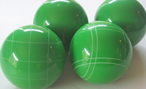 Premium Quality EPCO 4 Ball Set with light green bocce balls [Misc.] by Epco