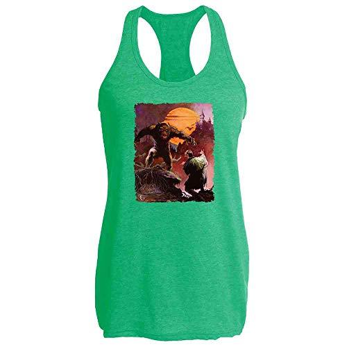 Wolfman by Frank Frazetta Art Heather Kelly M Womens Tank -