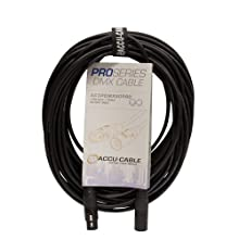 ADJ Products Stage And Studio Power Cable, Black, 50' (AC3PDMX50PRO)