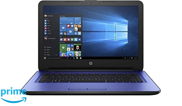 HP 14-am052nr W2M36UA Notebook PC - Intel Celeron N3060 1.6 GHz Dual-Core Processor - 4 GB DDR3L SDRAM - 32 GB SSD - 14-inch LED Display - Windows 10 Home ...