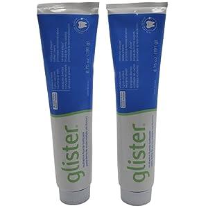 2 x GLISTER MULTI-ACTION FLUORIDE TOOTHPASTE