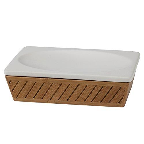 Creative Bath Products Spa Bamboo Soap Dish by Creative Bath (Image #1)